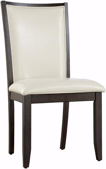 Ashley Furniture Signature Design Trishelle Dining Room Side Chair Set Upholstered Contemporary Set Of 2 Ivory Furniture Decor Amazon Com