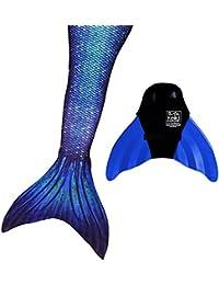 Designer Mermaid Tail + Monofin for Swimming