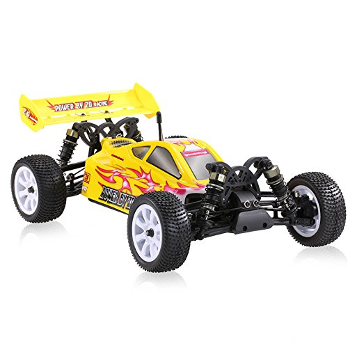 Kit Electric Buggy 4wd (ZD Racing 9102 Thunder B-10E DIY Car Kit 2.4GHz 1/10 Scale 4WD Brushless Electric Off-Road Buggy)