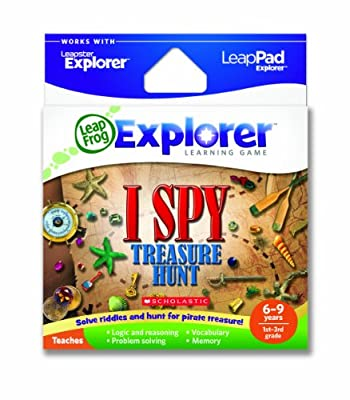 Leapfrog Explorer Learning Game I Spy Treasure Hunt Works With Leappad Leapster Explorer from LeapFrog