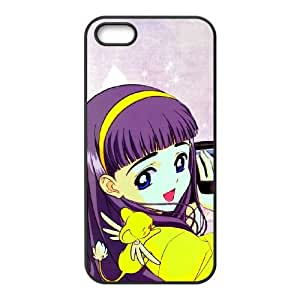 funda iPhone K8N54 manga Q8E9UD funda de caso 4 4s del teléfono celular cubren WY7MPB2DX negro