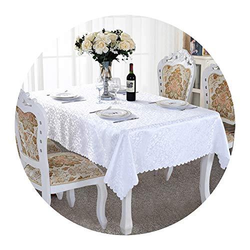 Stree Corner-home Polyester Jacquard Banquet Wedding Table Cloth Rectangular