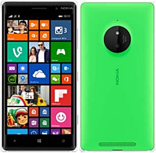 """Nokia Lumia 830 16GB 5"""" Inches (GSM Only, No CDMA) Factory Unlocked LTE 4G 3G 2G GSM Cell Phone (Green) - International Version"""