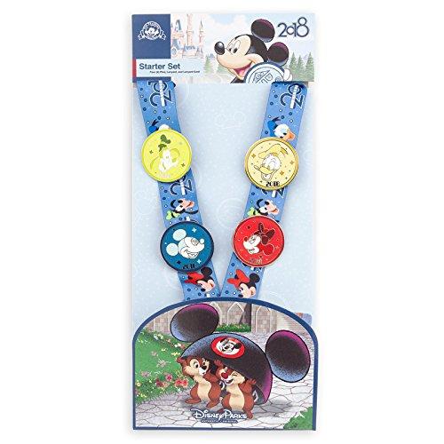 2018 Disney Parks Pin Trading Starter Set (Disneyland Chip)