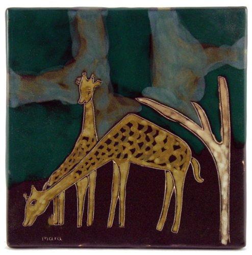 - Mara Ceramic Stoneware 8 Inch Giraffe Trivets (Tile)