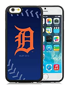 Popular iPhone 6/6S 4.7 inches Detroit Tigers Black Screen TPU Phone Case Genuine and Cool Design