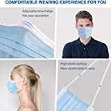 TATUBE 50Pcs Mouth, Disposable Face Mask for Unisex