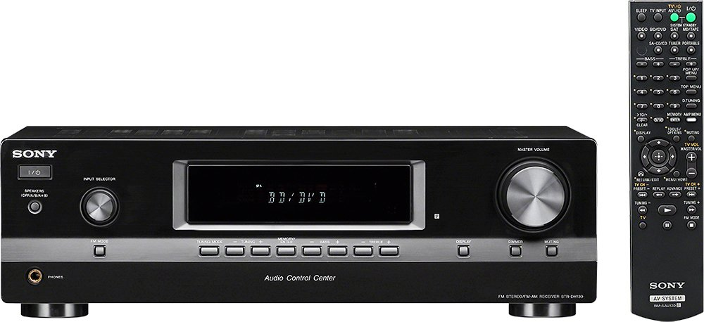 Sony STRDH130/CA 2-Channel Hi-Fi Receiver Audio Component Receiver, Black Sony Electronics Inc.