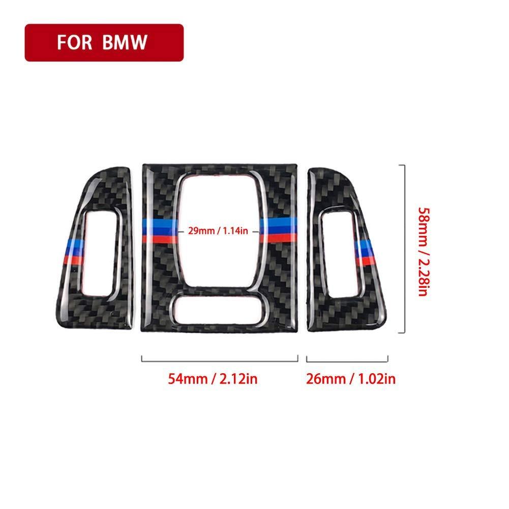 znwiem Rivestimento in Fibra di Carbonio per Presa d/'Aria condizionata per BMW Serie 3 4 F30 F31
