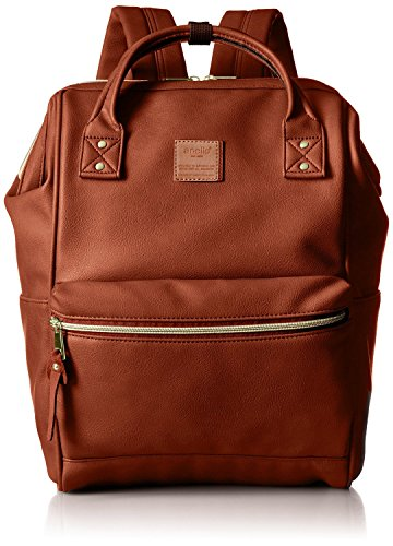 Anello Synthetic Leather Backpack Large Size Japan import