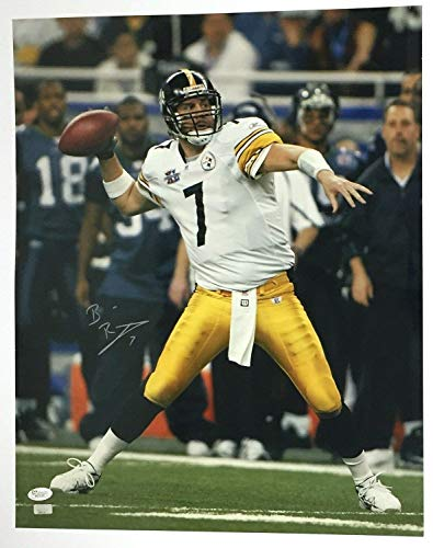 - Ben Roethlisberger Autographed Signed Memorabilia 16 X 20 Photo Steelers - JSA Authentic