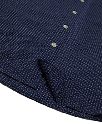 Van Heusen Men's Wrinkle Free Short Sleeve Button Down Check Shirt