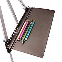 MEEDEN Artist Aluminum Tray for Filed Watercolor Sketch Easel Pen Pencil Pallet