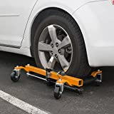 ARKSEN 4PC Vehicle Positioning Rolling Jack Wheel