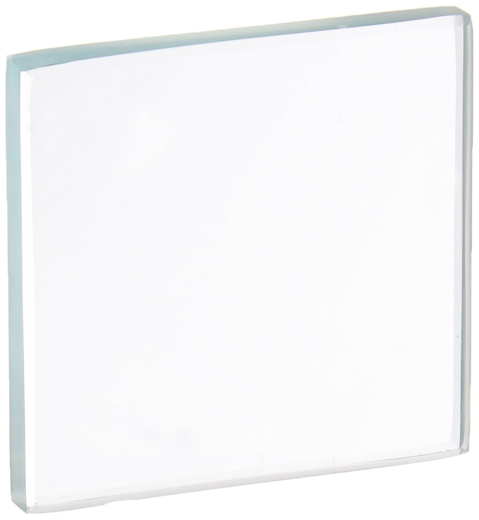 United Scientific GLP2X2-S Glass Streak Plate, 2'' Height X 2'' Width X 1/4'' Thick (Pack of 10)