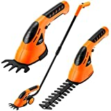 Kyпить VonHaus 2 in 1 Cordless Grass Shears  Hedge Trimmer Handheld  Wheeled Extension Handle на Amazon.com