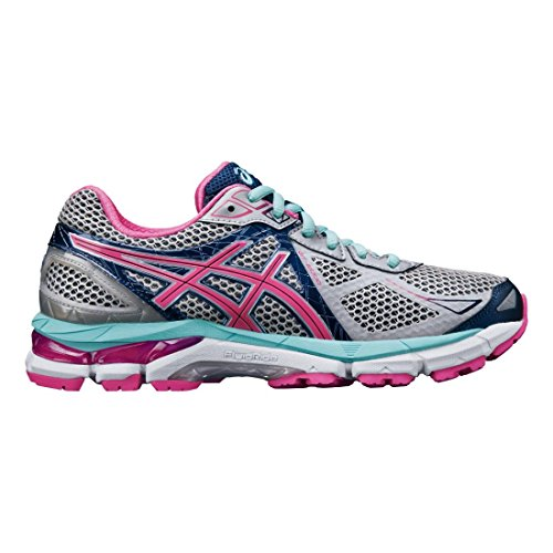 ASICS Women's GT-2000 3 Trail Running Shoe Lightning/Hot Pink/Navy 7 B - Medium (Womens Asics 2000 3 Running Shoes compare prices)