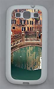 Venice Italy TPU Case Cover for Samsung Galaxy S3 I9300 White