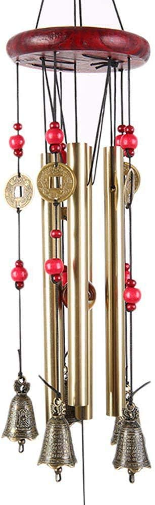 TJK Wind Chimes Outdoor Deep Tone- Large Memorial Melodious Windchimes with Tuned Metal Tubes-Wind Chimes Gifts for Garden Home Yard Hanging Decor(L33inch,W5inch)