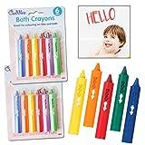 Washable Crayons Waterproof 12 Baby Kids Bath Toddler Bathtime Fun Paints Drawing