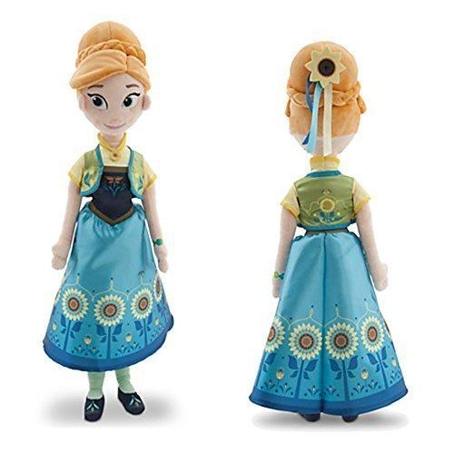 Oficial 55cm Disney Fiebre Frozen Anna suave peluche de juguete: Amazon.es: Juguetes y juegos