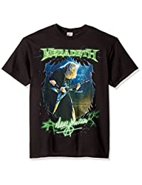 FEA Mens Megadeth Dave Mustaine Photo T-Shirt