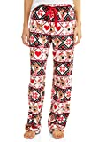 Women's Rudolph The Reindeer Super Minky Plush Sleep Pants (X-Large 16-18)