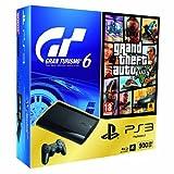 PlayStation 3 - Consola 500 GB + Gran Turismo 6 + Grand Theft Auto V