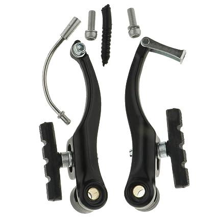 Cycling Bicycle Bike V-brake Shoes Pads 60mm one pair Black