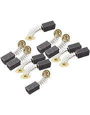 Exanko 10 par 6,5 x 7,5 x 13 mm elverktyg kolborstar 999021 för Hitachi