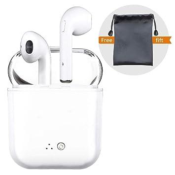 Peloo Auriculares in-ear inalámbricos Bluetooth, Bluetooth 4.2 Manos libres Bluetooth Auriculares inalambricos para