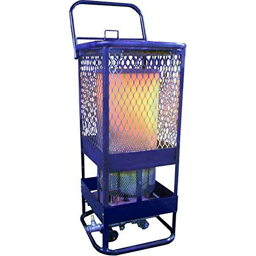 (Portable Gas Radiant Heater, 125K BTU, Natural Gas, Sun Blast 125)