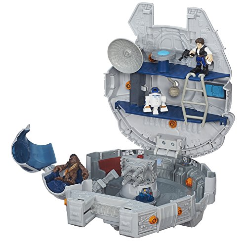 Playskool Heroes Star Wars Galactic Heroes Millennium Falcon and Figures