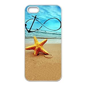 Infinity Anchor Forever Young Starfish Unique Apple iphone 6 plus Durable Hard Plastic Case Cover CustomDIY WANGJING JINDA