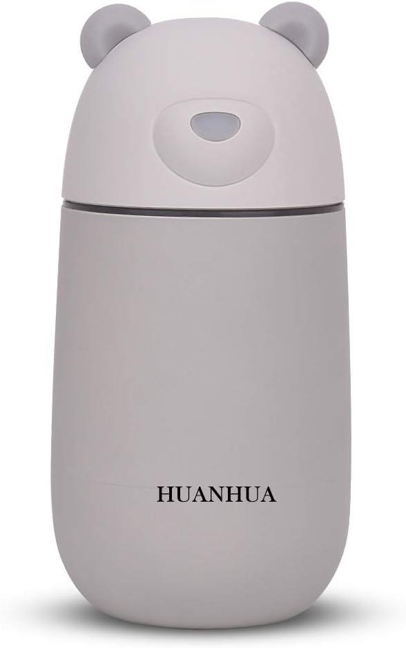JOLIFILE Mini humidificador ultrasónico de Niebla fría de 280 ML ...