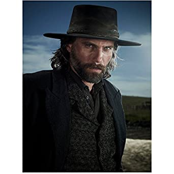Hell on Wheels Anson Mount as Cullen Bohannan Close Up Wearing a Black  Cowboy Hat Vest and Jacket 8 x 10 Photo at Amazon s Entertainment  Collectibles Store 4e70d3f0742