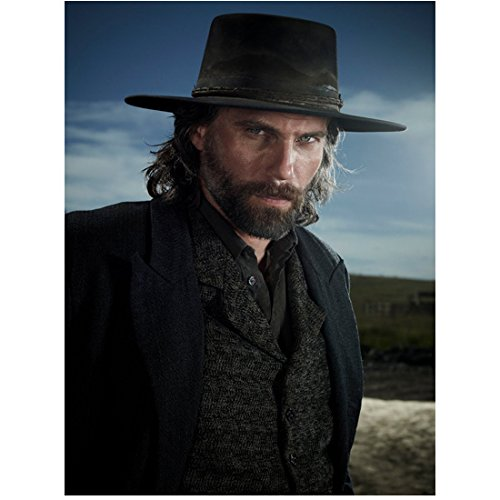 Hell on Wheels Anson Mount as Cullen in Black Suit Jacket and Hat Sky Background 8 x 10 inch photo (On Banshee Sky)