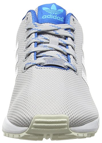 adidasZx Flux - Zapatillas de running hombre Gris (Light Solid Grey/Shock Blue/Blue GlowLight Solid Grey/Shock Blue/Blue Glow)