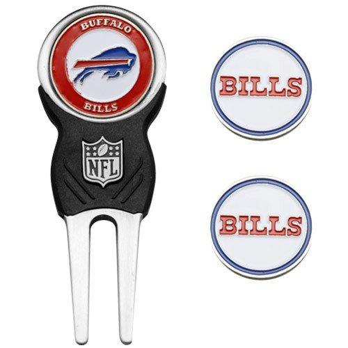 Team Golf Buffalo Bills Divot Tool & Ball Markers Set