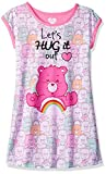 Care Bears Big Girls' Lets Hug It Out Nightgown, Pink, Medium