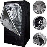 SavingPlus Indoor Grow Light Box Tent Aluminum lined Bud Dark Room for...