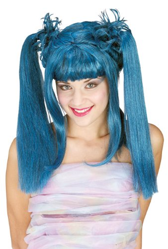 [Rubie's Costume Punk Diva Wig, Blue, One Size] (Punk Fairy Costumes)