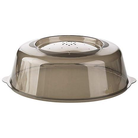 Tapa para horno de microondas, a prueba de salpicaduras de vapor ...