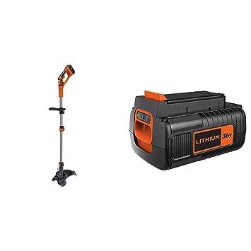 BLACK+DECKER Cortabordes a batería 36V + Black+Decker BL20362-XJ ...