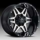 TIS 538MB 20x12 8x165.1 -44mm Black/Machined Wheel Rim