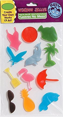 amazon com summer themed decor beach themed gel window clings 12