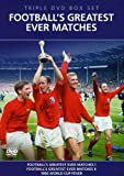Football's Greatest Ever Matches - 3 DVD Box Set