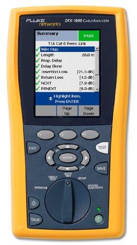 Fluke Networks DTX 1800 Cable Analyzer