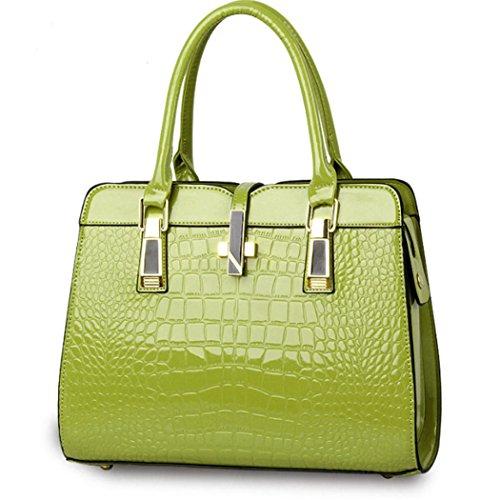 Bag Women New Hobo Shopper Lady Satchel Fashion Faux Tote Handbag Purse Green Leather vqqwa