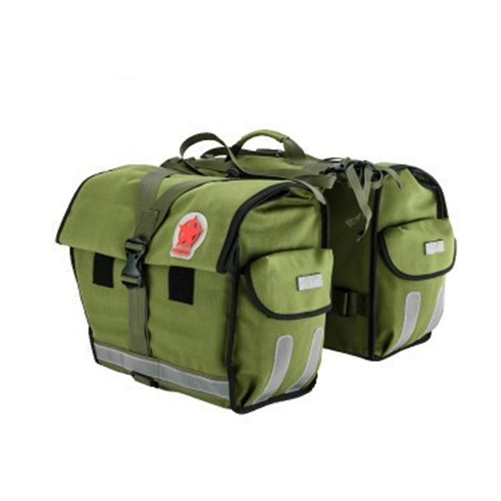 Sunbobo Bike Pannier Trunk Bag, große Kapazität wasserdicht Fahrrad Rear Seat Pannier Fit für Radfahren Aufbewahrungstasche